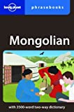 Front cover for the book Mongolian Phrasebook by Alan J. K. Sanders