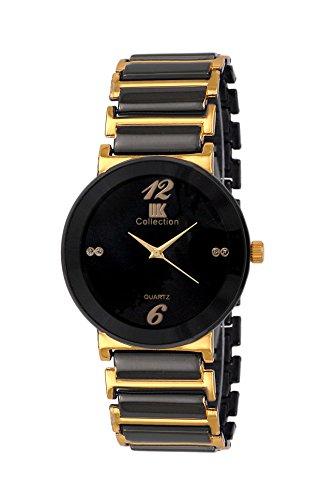 Iik Collection Analogue Black Dial Men's Watch-Iik044M