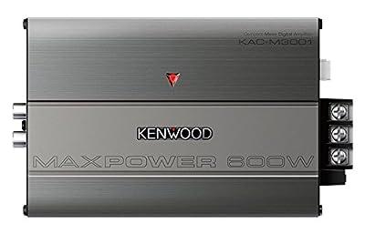 Kenwood KAC-M3001 600W Class D Monoblock Compact Digital Car/ATV/Marine Certified Amplifier