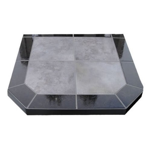 Chimney 49210 Night Shadows Tile Double Cut Stove Board- 40 in. X 40 in.