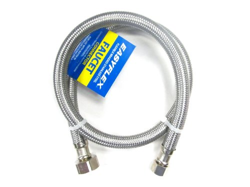 Easyflex EF-FC-38C12F-30 Stainless Steel Braided Faucet C...