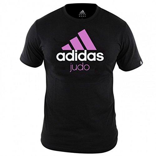 adidas Community T-Shirt Judo Mixte Noir Taille S–S