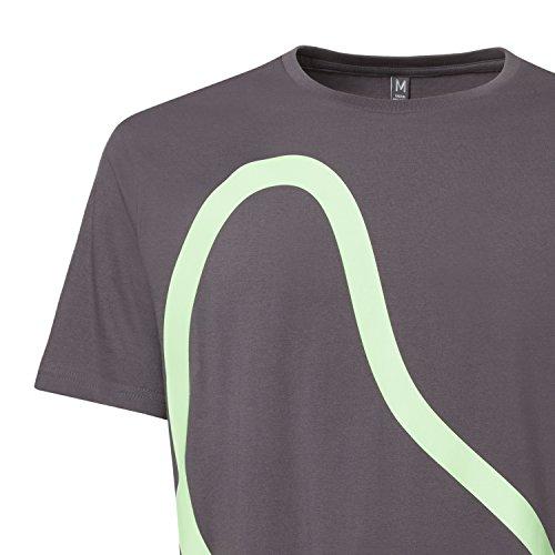 ThokkThokk Kidney T-Shirt pale green/castlerock aus 100% Biobaumwolle hergestellt // GOTS und Fairtrade zertifiziert