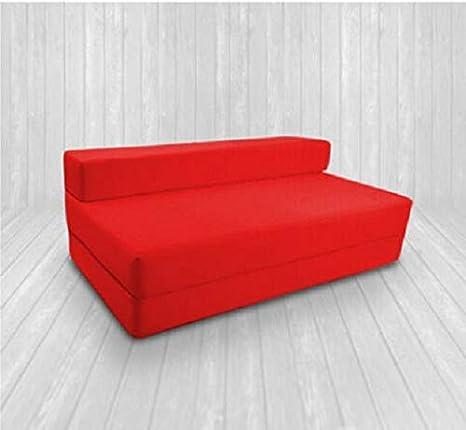 Zaffiro 100/% cotone Z letto singolo pieghevole sedia letto letto ospiti futon divano letto letto pieghevole schiuma morbido confortevole con una copertura rimovibile con cerniera 10 colori Lime