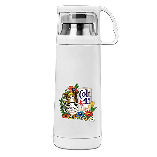 haulkoo-colt-45-gold-donkey-stainless-steel-thermos-cup