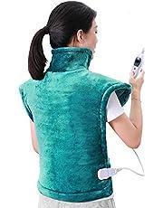MaxKare 60 x 85 cm Heizkissen für Rücken Schulter Nacken Abschaltautomatik Wärmekissen und Schneller Heiztechnologie für Entlastung von Rücken und Schultern Heizdecke aus Angenehmem Flanellmaterial