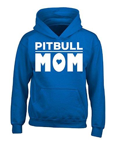 Pitbull Mom - Adult Hoodie 4xl Royal
