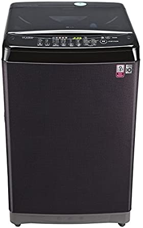 LG 7 kg Fully-Automatic Top Loading Washing Machine (T8077NEDLK, Black Knight)