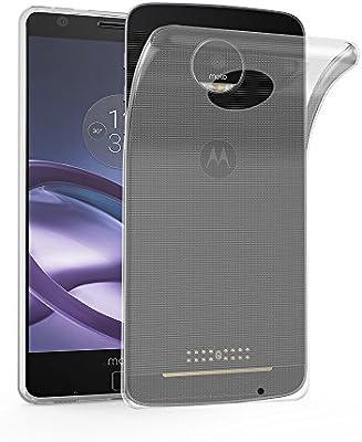 Cadorabo Funda para Motorola Moto Z Play en Transparente ...