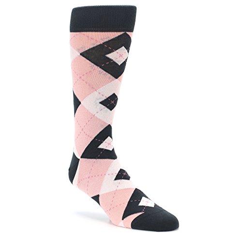 rgyle Pattern Men's Socks (Petal/Blossom) ()
