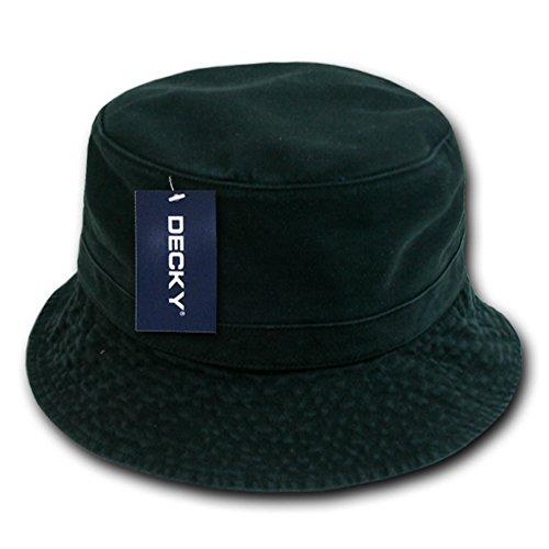 Decky Orgianl Polo Bucket Hat - BLACK - L / XL - ()
