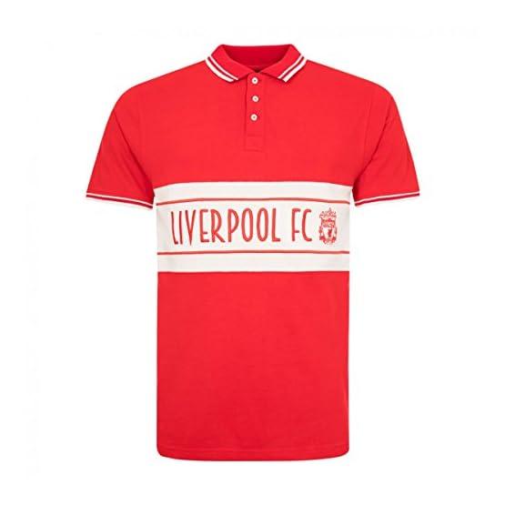 Liverpool FC Panel Crest Polo pour Homme