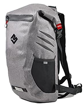 Waterproof Floating Backpack Gray, Dry Bag, Travel, Hiking, Biking, Boating, Beaches