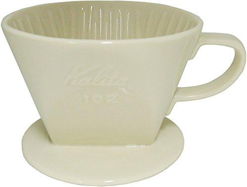 Kalita Ceramic Coffee Dripper 102 - Lotto White # 02001 by Unknown