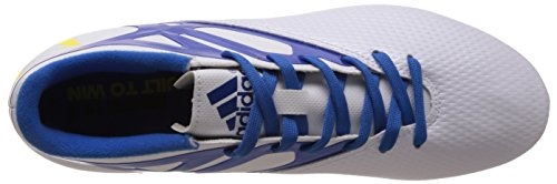Scarpa Da Calcio Adidas Performance Mens Messi 15.3 Fg / Ag Bianco-blu
