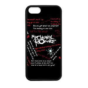 Fashion MCR My Chemical Romance Hard Snap-On Rubber Coated Cover Case for iPhone 5 / iPhone 5S by supermalls