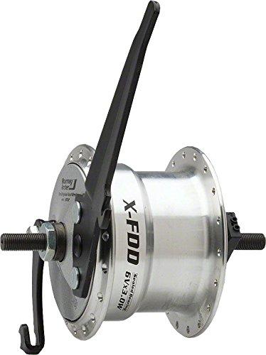 Sturmey Archer Dynamo Drum brake Front Hub 36h, Silver ()