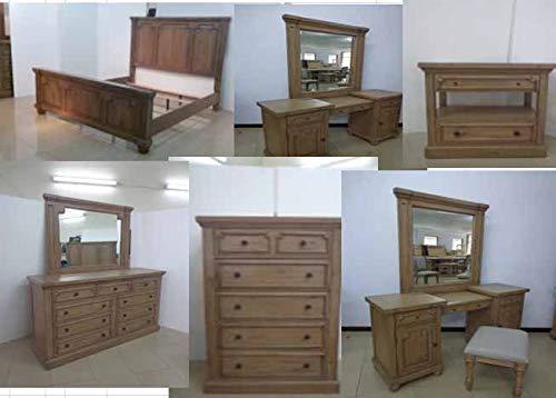 Coaster Home Furnishings 205170Q Panel Bed, Rustic Smoke