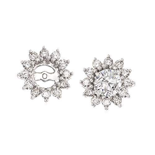Ross-Simons 0.50 ct. t.w. Diamond Earring Jackets in 14kt White Gold
