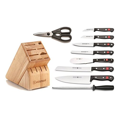 Wusthof 10 Piece Set Knife (Wusthof Gourmet 10 Piece Knife Block Set)