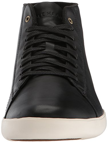 cheap sale best seller Cole Haan Men's Grand Crosscourt High Top Sneaker Black Leather clearance store for sale VdWwSt3