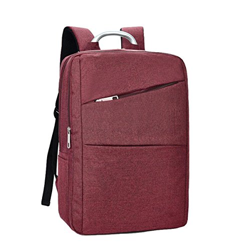 Cuaderno Bolsa De Hombro Bolsa De Ordenador Bolsa De Viaje De Estudiante De Moda Casual Hombres Y Mujeres Bolso Simple Salvaje Red