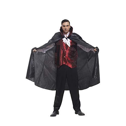 CBM Halloween Costumes for Men Vampire Adult Halloween Costumes M/L 5'5