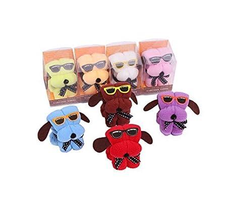 Regalo creativo perro en forma de pastel de boda de la toalla snoopy: Amazon.es: Juguetes y juegos