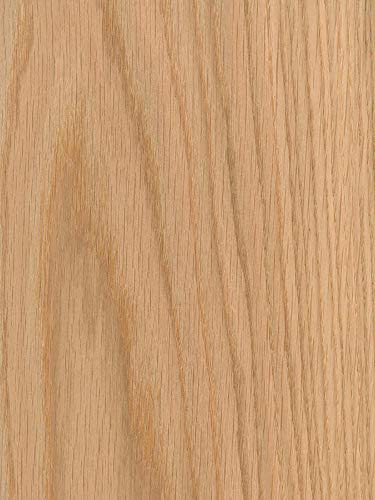 (Wood Veneer, Oak, Red Flat Cut, 2x8, PSA)