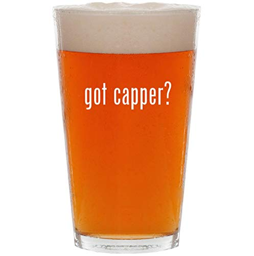 (got capper? - 16oz All Purpose Pint Beer Glass)