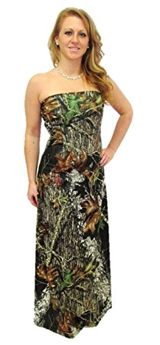 Camo Diva AMANDA Camo Formal Prom Gown (Medium (8-10)) by CamoDiva.com