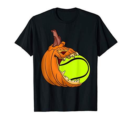 Pumpkin Carving Eat Tennis Ball Costume T-Shirt