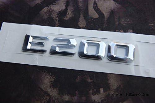 D962 E200 Emblem Badge top auto aufkleber 3D Abzeichen Plakette car Sticker PKW