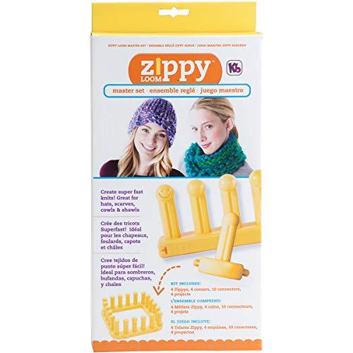 Authentic Knitting Board KB Zippy Master Set, 7