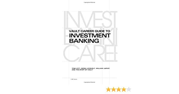 Amazon. Com: vault career guide to investment banking (vault career.