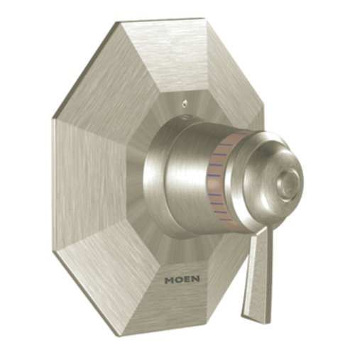 Moen Ts3410Bn Felicity Exacttemp R Tub/Shower Valve Only, Brushed Nickel (Shower Felicity Moen Exacttemp)