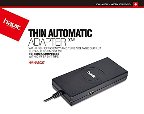 Cargador universal 90w automatico: Amazon.es: Informática