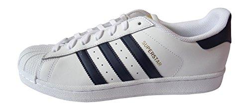 Adidas Originaler Herre Sneakers Superstjerne Ray Blå S75881 Hvid bHhemQ