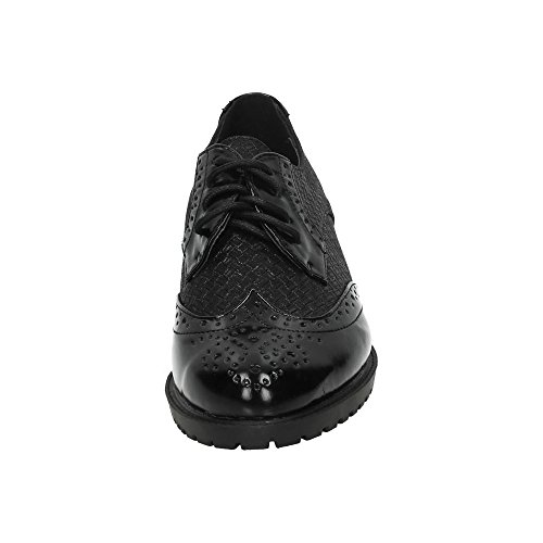 Mujer ZAPATOP Blucher CORDÓN Zapatos Tipo Zapato Negro 74 CHC88 rXqwFXf