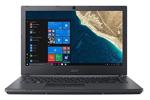Acer TravelMate P2 TMP2410-M-71J5 Notebook con Processore Intel Core i7-7500U, RAM 8 GB DDR4, 256 GB SSD, Display 14″ FHD LED, Scheda Grafica Intel HD Graphics 620, Windows 10 Professional, Nero