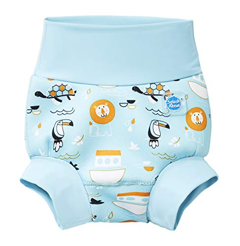 Splash About New and Improved Happy Nappy Swim Diapers (Noah's Ark, 12-24 Months)