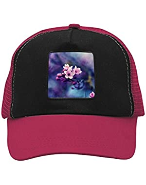 Unisex The Pink Peach Blossom Adjustable Classic Hiphop Hat Baseball Cap Snapback Dad Hat