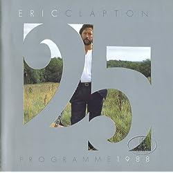 ERIC CLAPTON 1988 25th Anniversary Tour Concert Program Programme Book