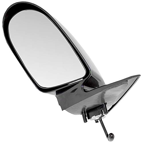 APDTY 0662629 Manual Side View Mirror Assembly Fits Driver Side Left 1998-2001 Chevy Metro & 1995-1997 Geo Metro (Replaces 30014015)