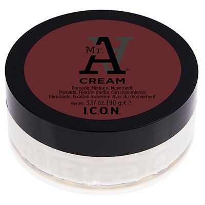 ICON Mr. A Cream, 3.17 oz (Pomade. Medium. Movement)