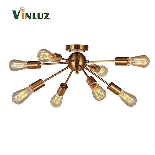 Antique Brass Pendant Ceiling Light