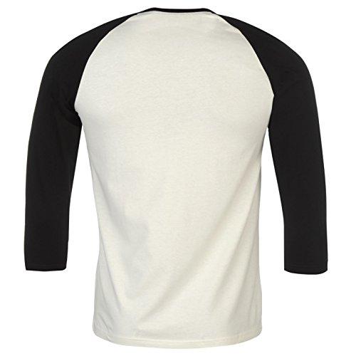 Official Herren T-Shirt mehrfarbig weiß / schwarz
