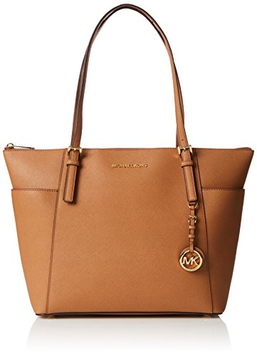et Set Saffiano Leather Tote - Acorn (Signature Large Tote)