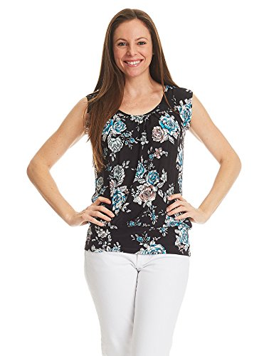 womens banded bottom tops - 1