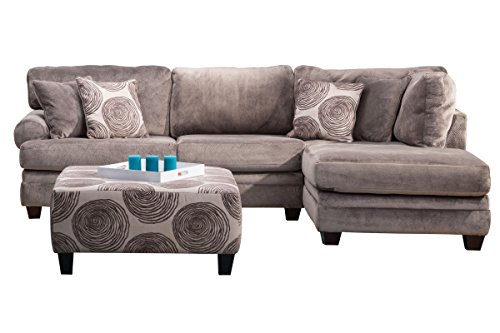 Albany Sectional - Gaylord Microfiber Sectional